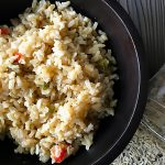 mexican style rice - image