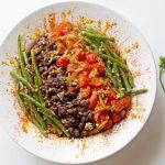 adobo green bean quinoa salad-main